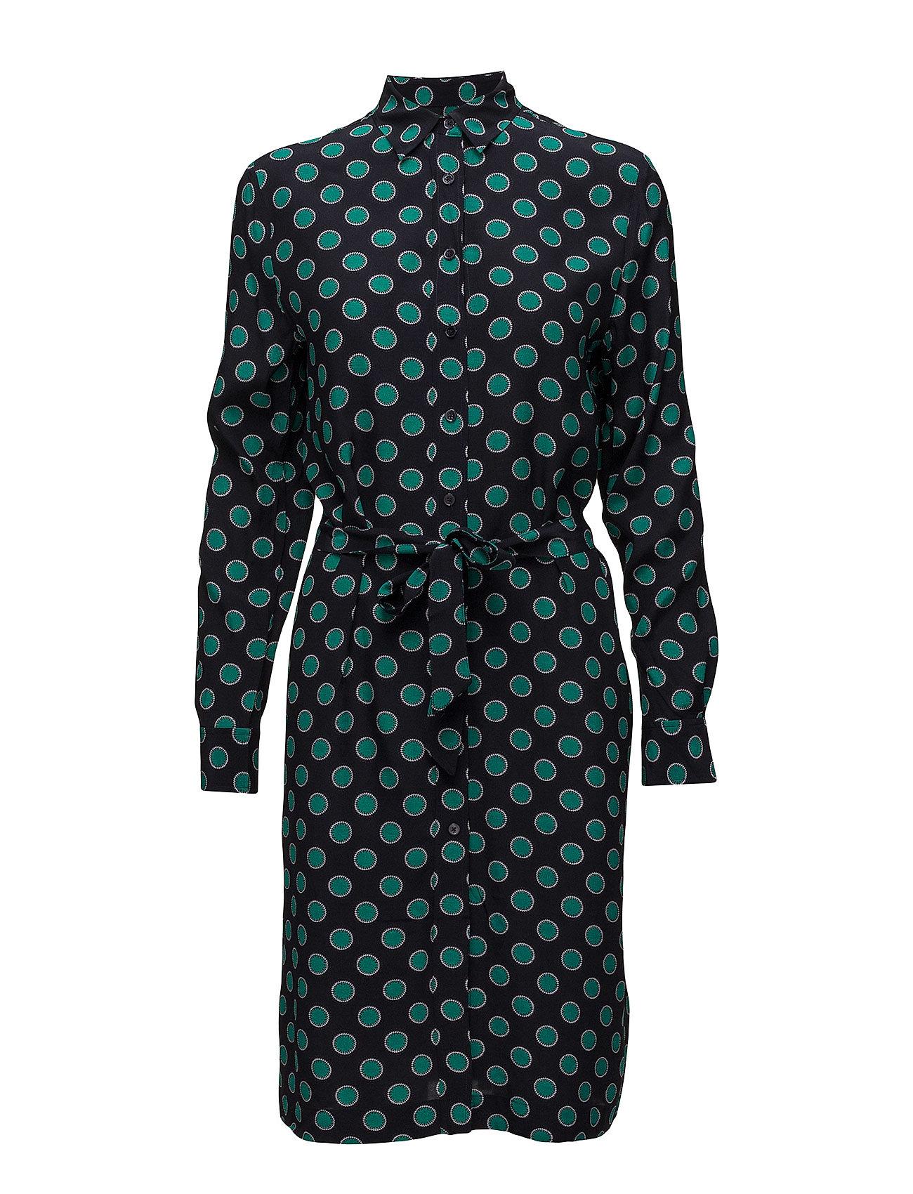Misty Dot Shirt Dress - Evening Blue GANT jtNn5gO