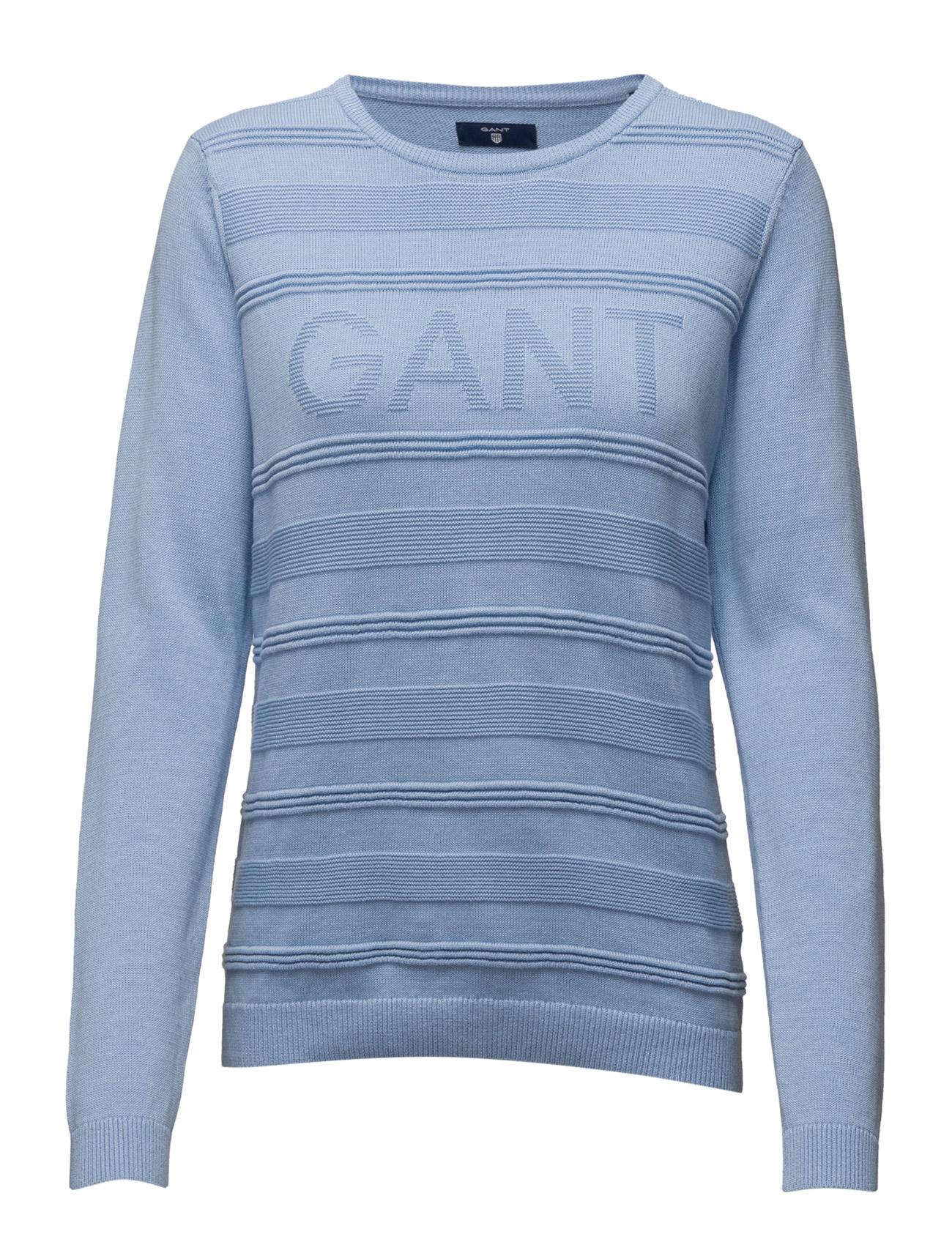 De coolaste Gant 3d Logo Crew GANT Tröjor till Kvinnor i trevliga material bd03ca38a4222