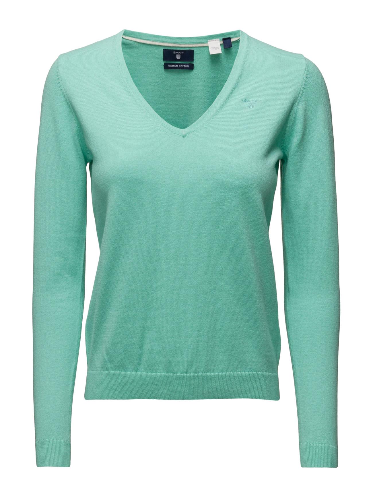 Soft Cotton V-Neck GANT Sweatshirts til Damer i