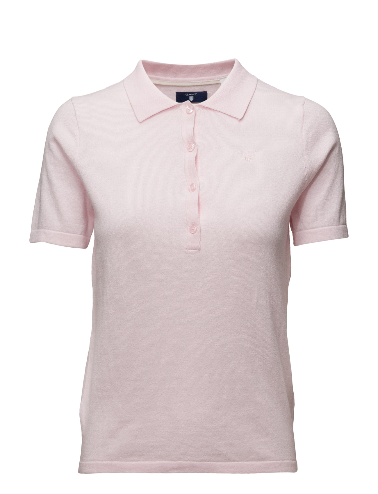 Soft Cotton Polo Shirt GANT Polo t-shirts til Damer i
