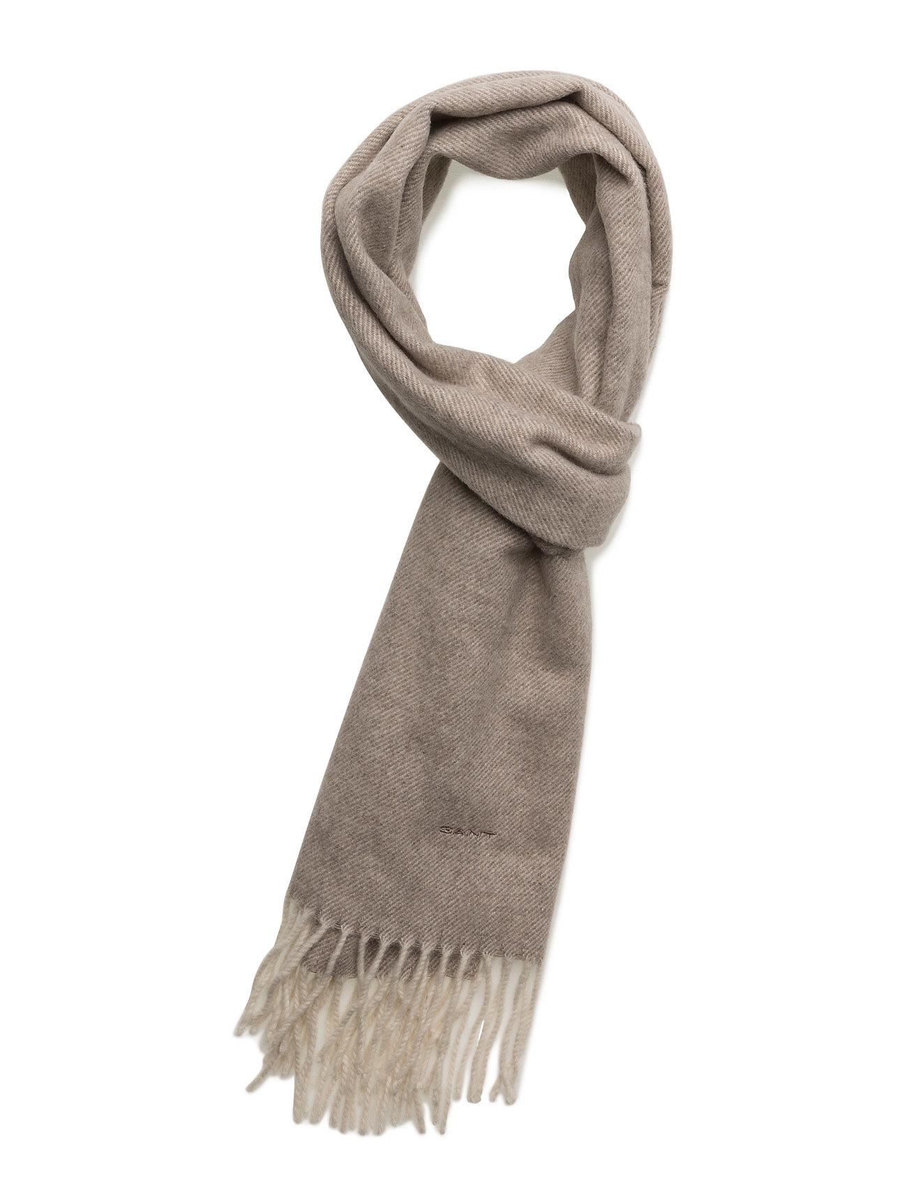 gant – O1. twill lambswool scarf fra boozt.com dk