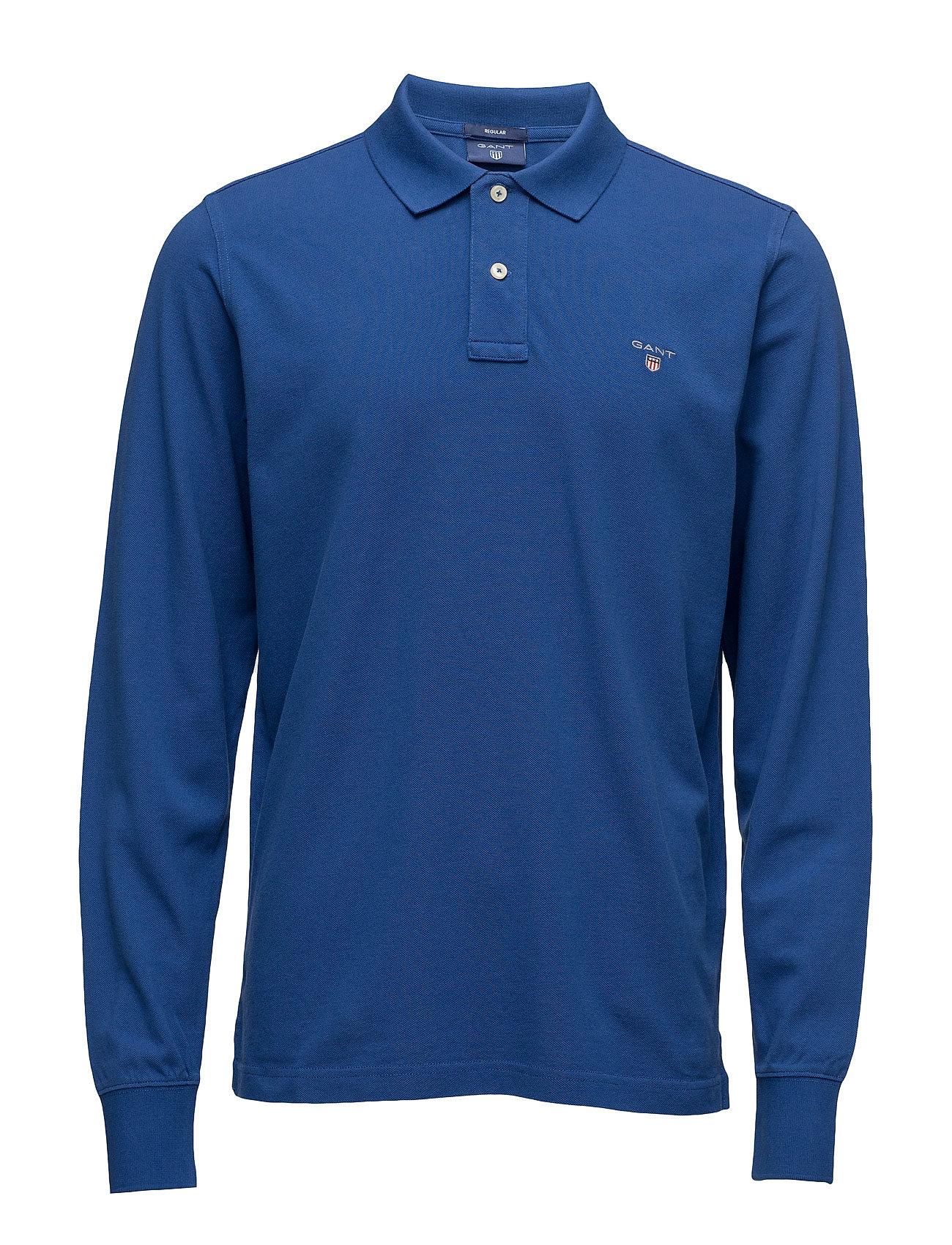 The Original Pique  Ls Rugger GANT Længærmede polo t-shirts til Herrer i