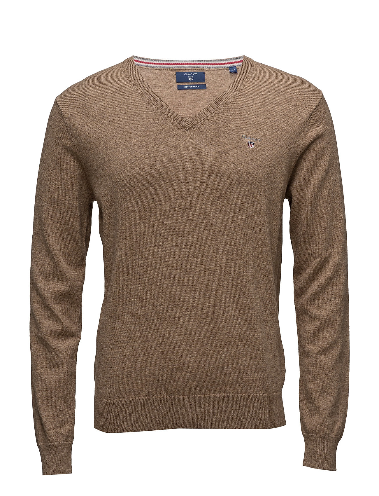 Cotton Wool V-Neck GANT V-halsede til Herrer i