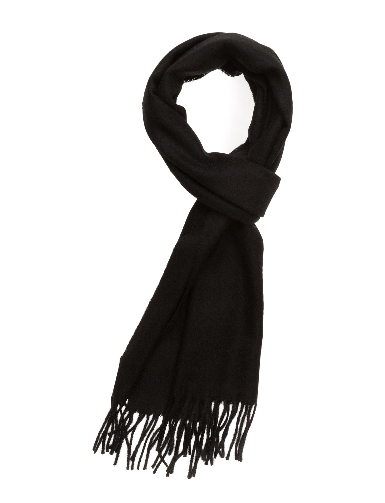 Solid Lambswool Woven Scarf GANT Accessories til Mænd i