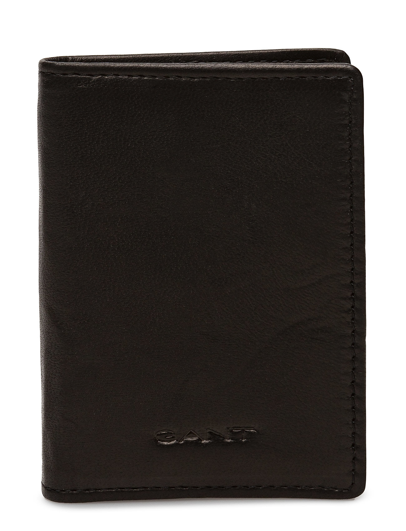 GANT O1.LEATHER DOUBLE CARD HOLDER