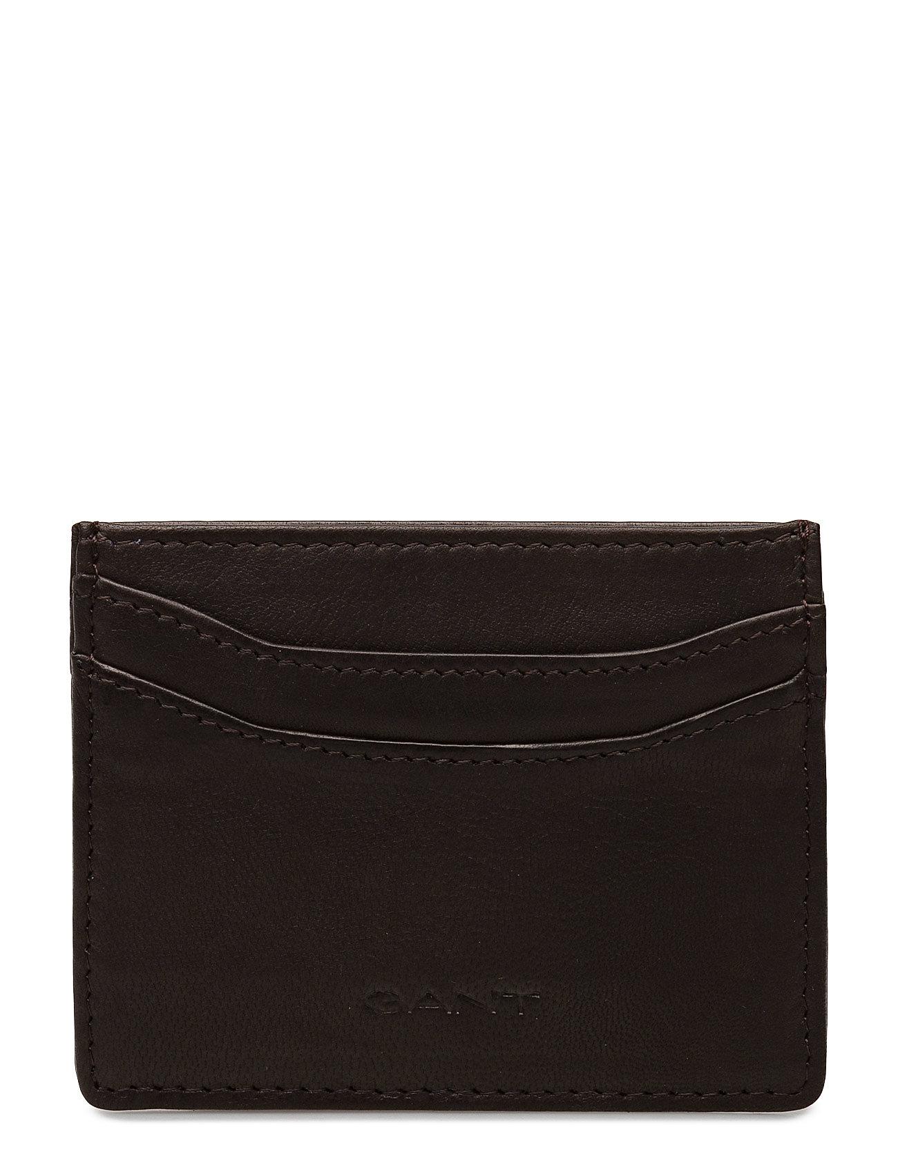 O1. Leather Cardholder GANT Punge til Herrer i