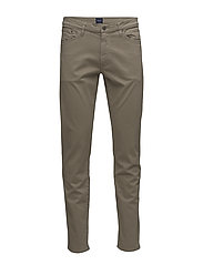 SLIM DESERT JEANS - DESERT BROWN