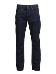 TYLER CONNECTICUT COMFORT JEAN - DARK BLUE BROKEN IN