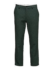 R2. WOOLLY PANTS - FOREST GREEN MEL