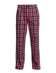 PYJAMA PANT ACADEMY CHECK - RED