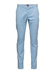 SLIM COMFORT CHINO - CAPRI BLUE