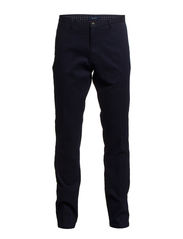L. TAILORED PIQUÉ COMFORT PANT - MIDNIGHT SKY