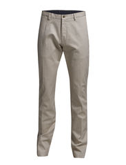 L. TAILORED PIQUÉ COMFORT PANT - PUTTY