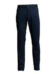 TAILORED PIQUE COMFORT PANT - THUNDER BLUE