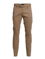 SOHO BUTTER TWILL CHINO - DARK KHAKI