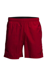 SOLID SWIM BOXER - BRIGHT RED