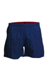 SOLID SWIM BOXER - YALE BLUE