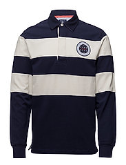 O2. CHEST STRIPE HEAVY RUGGER - EVENING BLUE