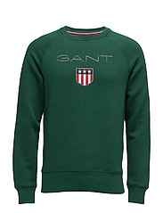 GANT SHIELD C-NECK SWEAT - IVY GREEN
