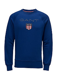 GANT SHIELD C-NECK SWEAT - YALE BLUE