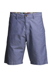 L. COTTON OXFORD SHORTS C. - YALE BLUE