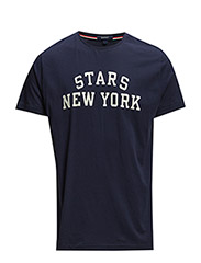 STARS NEW YORK T-SHIRT - EVENING BLUE