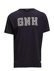 N. GANT T-SHIRT - EVENING BLUE