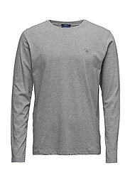 THE ORIGINAL LS T-SHIRT - GREY MELANGE
