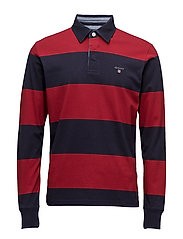 THE ORIGINAL BARSTRIPE HEAVY RUGGER - DARK RED