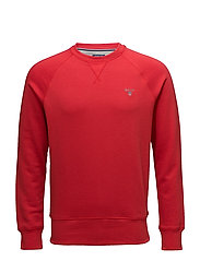 GANT ORIGINAL C-NECK SWEAT - BRIGHT RED