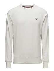 GANT ORIGINAL C-NECK SWEAT - EGGSHELL