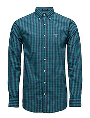O1. TP INDIGO CHECK REG BD - EMERALD GREEN