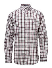 THE OXFORD CHECK REG BD - PORT RED