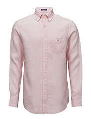 THE LINEN SHIRT REG BD - SHADOW ROSE