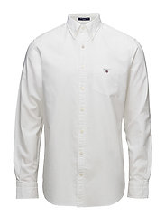 THE OXFORD SHIRT REG BD - WHITE