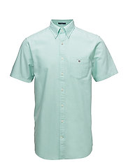 THE OXFORD SHIRT REG SS BD - SPEARMINT