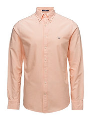 THE OXFORD SHIRT SLIM BD - PAPAYA ORANGE