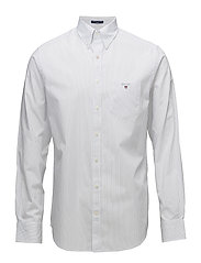 THE BROADCLOTH  PINSTRIPE REG BD - WHITE