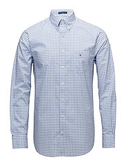 THE BROADCLOTH  GINGHAM REG BD - CAPRI BLUE