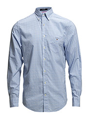 THE GINGHAM LS BD - CAPRI BLUE