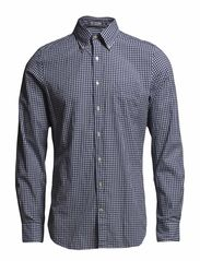 YALE ARCHIVE MADRAS CHECK LS FBD - LUMINARY BLUE