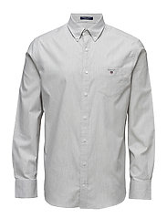 COMFORT OXFORD SOLID REG BD - LIGHT GREY MELANGE
