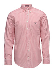 THE BROADCLOTH BANKER  REG BD - BRIGHT RED