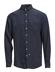 THE LINEN SHIRT LS BD - CLASSIC BLUE