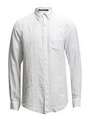 THE LINEN SHIRT LS BD - WHITE