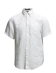 THE LINEN SHIRT SS BD - WHITE