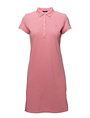 O1. THE ORIGINAL PIQUE DRESS SS - PINK ROSE
