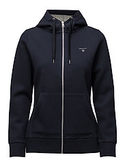 O. ACTIVE FULL ZIP HOODIE - EVENING BLUE