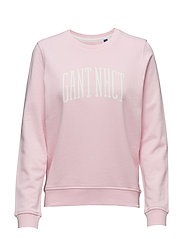 O. GANT NHCT C-NECK SWEAT - CALIFORNIA PINK