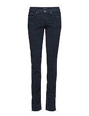 C. DANA WASHED CORD 5PKT PANT - NAVY